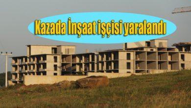 Photo of Ferizli Cezaevi inşaatında kaza, 1 yaralı