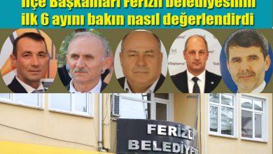 Photo of İlçe başkanları Ferizli'nin ilk 6 ayı için ne dedi?