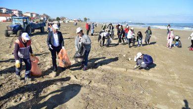 Photo of Karasu Sahiline Kolejli Temizliği