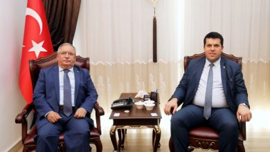 Photo of Makedonya Bakanı Hasan'dan Vali Nayir'e Ziyaret