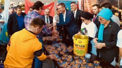 Photo of İyi Parti Atatürk Ve Şehitler İçin Lokma Dağıttı