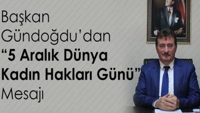 Photo of Gündoğdu'dan Dünya Kadın Hakları Günü' mesajı