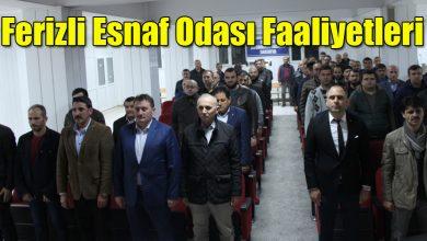 Photo of Ferizli Esnaf Odası Esnaflarla birlikte toplandı