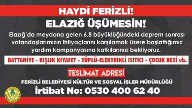 Photo of HAYDİ FERİZLİ!