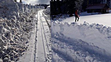 Photo of Burasıda Sakarya: Kar kalınlığı yarım metre!