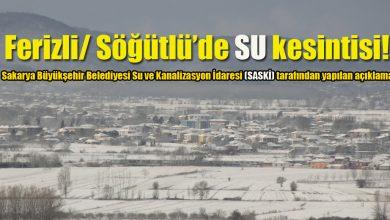 Photo of SASKİ'den Ferizli/ Söğütlü için SU kesintisi