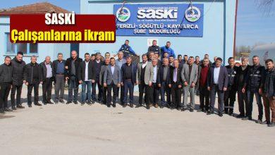 Photo of Muhtarlardan SASKİ çalışanlarına ikram