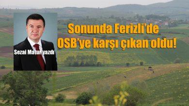 Photo of Matur, Ferizli İhtisas OSB'yi Yazdı
