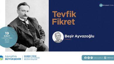 Photo of Yazar Beşir Ayvazoğlu Tevfik Fikret'i anlatacak