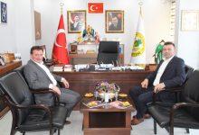 Photo of Başkan Özen'den, Başkan Gündoğdu'ya Ziyaret