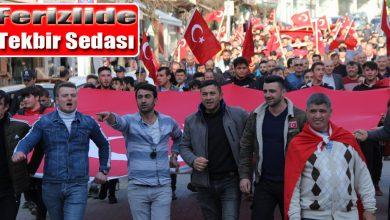 Photo of Ferizli Caddelerinde tekbir sedaları yükseldi