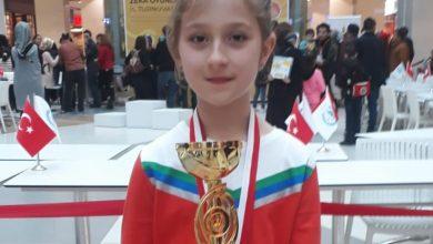 Photo of İrem, Ferizli'nin gururu oldu