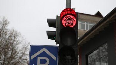 Photo of Trafik ışıklarında 'Evde Kal' farkındalığı