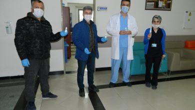 Photo of Trabzonlulardan sağlık çalışanlarına el dezenfektanı