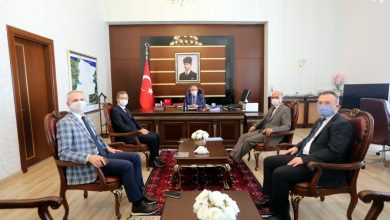 Photo of İlimizin Yeni Müftüsü Başiş'ten Vali Nayir'e Ziyaret