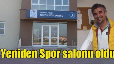 Photo of Tekrar spor salonu olarak hizmet verecek