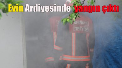 Photo of Evin Ardiyesinde çıkan yangın mahallede panik yarattı
