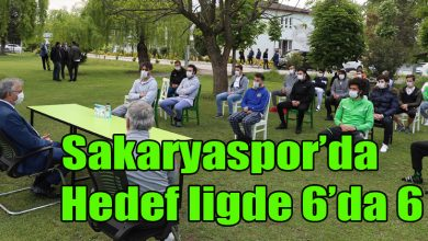 Photo of Sakaryaspor'da Hedef ligde 6'da 6