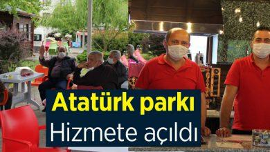 Photo of Atatürk Parkı Hizmete açıldı