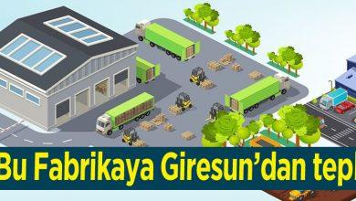 Photo of Söğütlü'de Kurulacak Fabrikaya Giresun'dan tepki