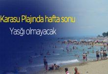 Photo of Karasu plajı yasaktan muaf tutulacak