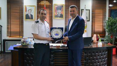Photo of Jandarma Komutanı Mehmet Kütük'ten Veda Ziyareti