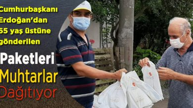 Photo of Erdoğan'dan 65 yaş üstüne kolonya maske