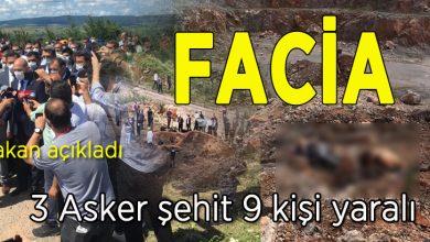 Photo of Bakan Soylu, 3 Asker Şehit 1 ağır 9 yaralımız var dedi
