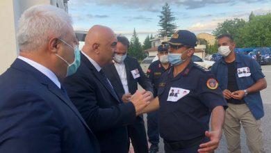 Photo of CHP Milletvekili Özkoç Albay Yiğit'ten bilgi aldı