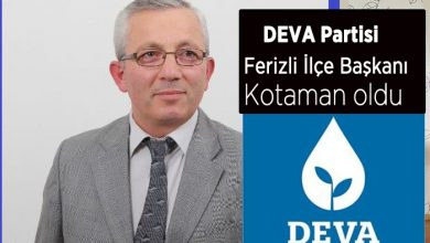 Photo of Yakup Kodaman DEVA Partisi İlçe başkanı oldu