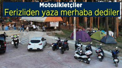 Photo of Motosikletçiler Kamp İçin Ferizlide