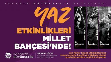 Photo of Büyükşehir Yaz Kültür Sanat Etkinlikleri başlıyor