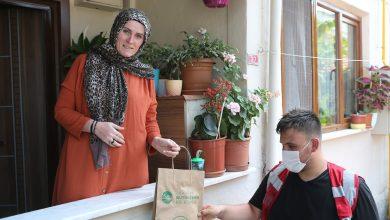 Photo of Büyükşehir'in 'Her Eve Maske' dağıtımı sürüyor