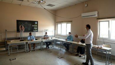 Photo of SASKİ çalışanlarına ilk yardım eğitimi